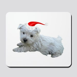 Holiday Westie Mousepad
