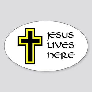BELIEVER Oval Sticker