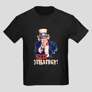 Exit Strategy Kids Dark T-Shirt