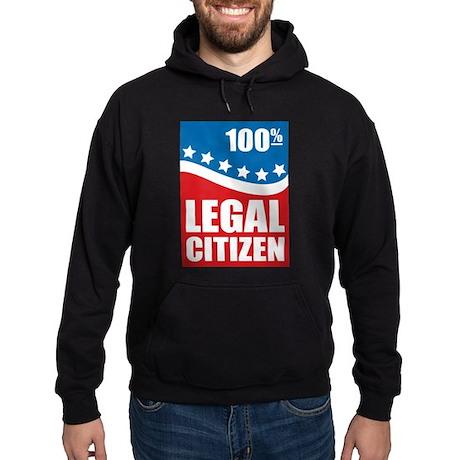 100% Legal Citizen Hoodie (dark)