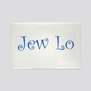 Jew Lo Rectangle Magnet