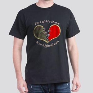 Part of My Heart 2009 Afghanistan Dark T-Shirt