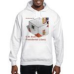 Bush Libary Hooded Sweatshirt