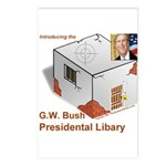 Bush Libary Postcards (Package of 8)