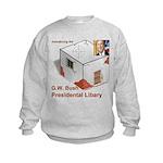 Bush Libary Kids Sweatshirt