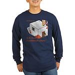 Bush Libary Long Sleeve Dark T-Shirt
