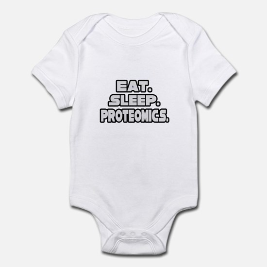 """Eat. Sleep. Proteomics."" Infant Bodysuit"