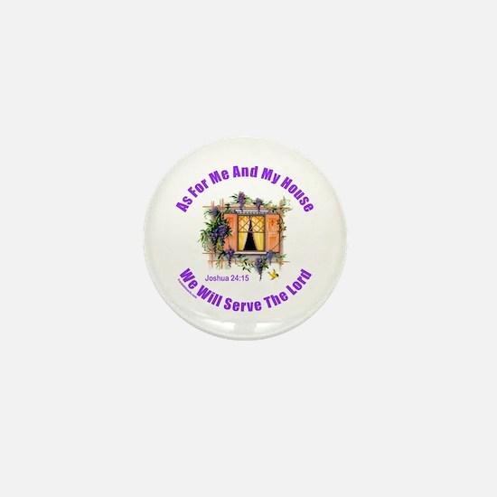 JOSHUA 24:15 Mini Button