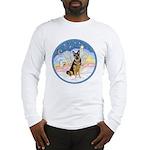 Clouds (#3) & Willi Long Sleeve T-Shirt