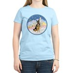 Clouds (#3) & Willi Women's Light T-Shirt
