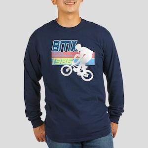 1980's BMX Long Sleeve Dark T-Shirt