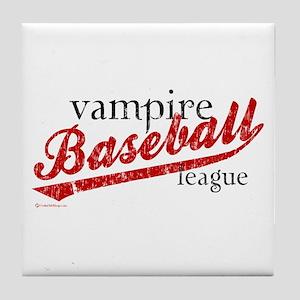 Vampire Baseball TM - Jacob 89 Tile Coaster