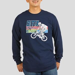 Worn 1986 BMX Champs Long Sleeve Dark T-Shirt