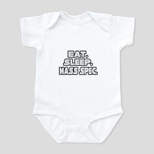 """Eat. Sleep. Mass Spec."" Infant Bodysuit"