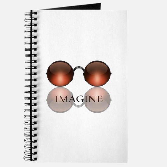 Imagine Rose Colored Glasses Journal