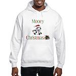 Mooey Christmas Hooded Sweatshirt