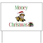 Mooey Christmas Yard Sign
