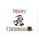 Mooey Christmas Postcards (Package of 8)