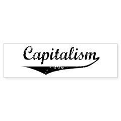 Capitalism Bumper Bumper Sticker