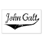 John Galt Rectangle Sticker