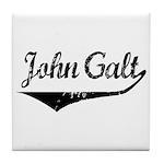 John Galt Tile Coaster