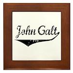 John Galt Framed Tile