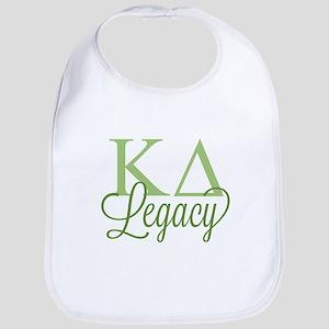 Kappa Delta Legacy Baby Bib