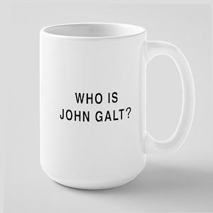 Who is John Galt? Large Mug
