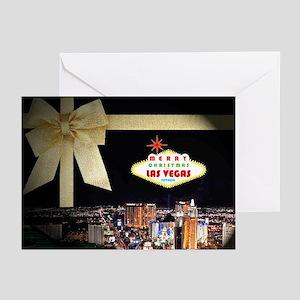 Las Vegas Christmas Cards (Pk of 10)