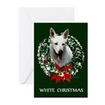 White Shepherd Christmas Cards (Pk of 10)