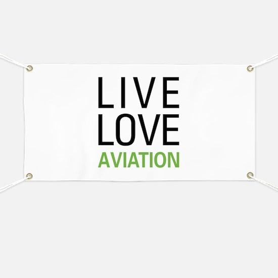 Live Love Aviation Banner