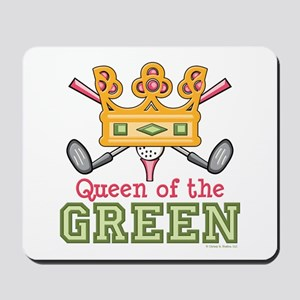 Queen of the Green Golf Mousepad