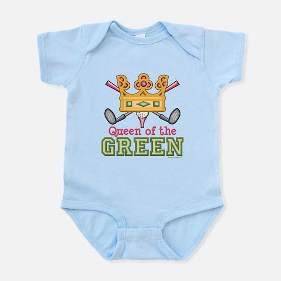 Queen of the Green Golf Infant Bodysuit