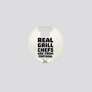 Real Grill Chefs are from Portugal C3t Mini Button