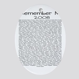 Remember Me Oval Ornament
