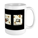 Coffee Cup Meditation Large Mug