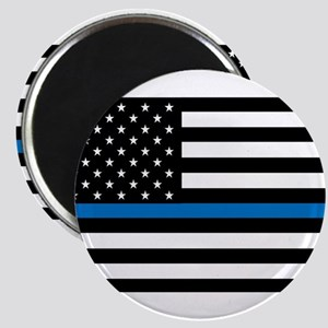 Thin blue line flag Magnets