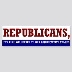 Republican - Bumper Sticker