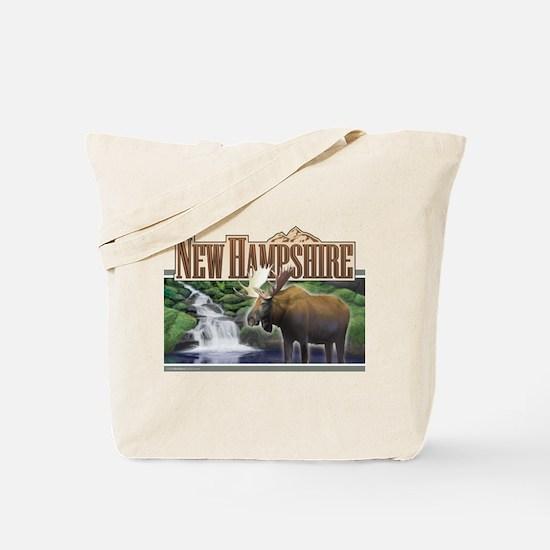 New Hampshire Moose Tote Bag