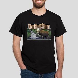 New Hampshire Moose Dark T-Shirt