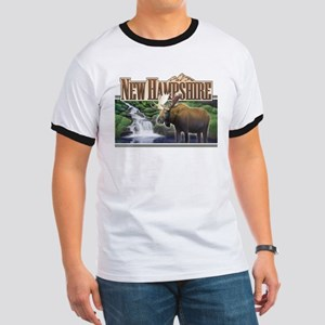 New Hampshire Moose Ringer T
