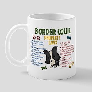 Border Collie Property Laws 4 Mug