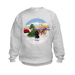 Santa's Treat for Pudgy Sweatshirt