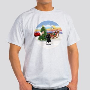 Santa's Treat for Pudgy Light T-Shirt