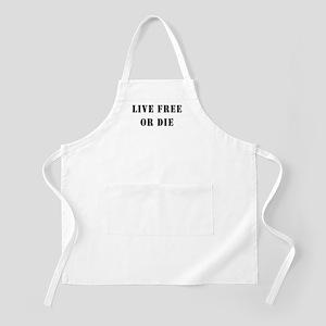 Live Free or Die BBQ Apron