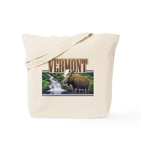 Vermont Moose Tote Bag
