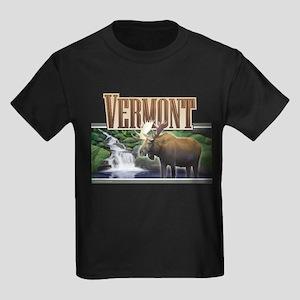 Vermont Moose Kids Dark T-Shirt