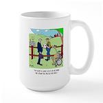 Camel Sues Straw Farmer Large Mug