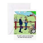 Camel Sues Straw Farmer Greeting Cards (Pk of 10)