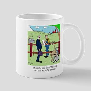 Camel Sues Straw Farmer Mug